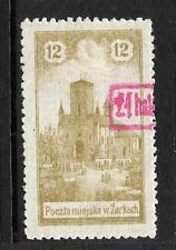 POLAND  ZARKI  1918   24h on 12h   LOCAL  MLH