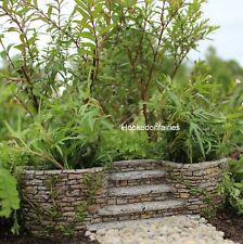 Miniature Ivy Planters w Stairway Staircase WS 1173 Fairy Garden