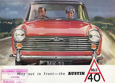 WAY OUT IN FRONT-THE AUSTIN A40 MK.2 BROCHURE, PUBLICATION No.2037/F.