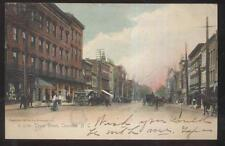 POSTCARD CHARLOTTE, NORTH CAROLINA NC TRYON STREET BUSINESS STORE FRONTS 1906