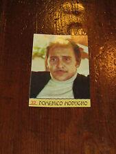 FIGURINA PANINI CANTANTI 1968 RECUPERATA N°32 DOMENICO MODUGNO