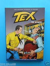 bd comics tex n. 14 collezione storica a colori tex attacca fumetti l'espresso