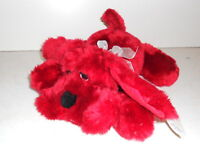 """Toy Works Plush Red Dog Puppy 12"""" Length New Stuffed Animal Toy"""
