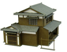 Sankei N Scale Old Favorite Diorama Series Japanese House B MP03-49  Paper Craft
