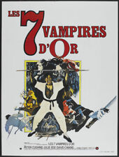 The Legend of the 7 golden Vampires Horror poster #5