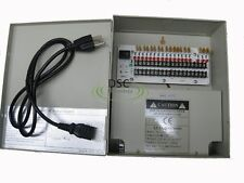 18 CH CCTV Security Camera Power Supply Box 12V DC