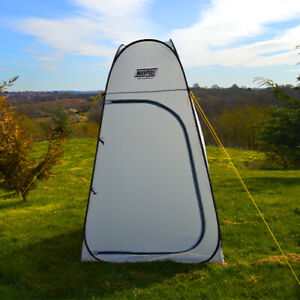 MAYPOLE PORTABLE POP UP OUTDOOR CAMPING SHOWER TENT TOILET WITH CARRY BAG