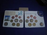 BRD KMS 2008 Stgl , A,D,F,G,J komplett , Kursmünzensatz