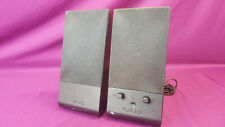 Pair of Black Sony Vaio VGP-SP3 Multimedia Computer Speakers