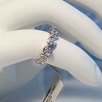 NWT JOHN HARDY STERLING SILVER DIAMOND PAVE RING - DIAMOND (0.32 ct) - SIZE 7