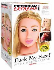 Pipedream Extreme Fuck My Face Blonde RD179-01 Mega Masturbatore Sesso Orale Toy