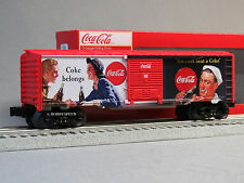 LIONEL COCA COLA HERITAGE US MILITARY BOXCAR #3 train coke O GAUGE 6-83782 NEW