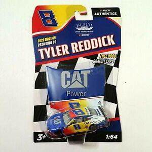 TYLER REDDICK NASCAR Authentics CAT POWER #8 2020 WAVE 9 Darlington 1/64