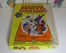 MARVEL SUPER HEROES ROLE PLAYING GAME By TSR #6850 (1984) Complete w/ BONUS