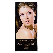 L'oreal Star Secrets Makeup Kit - Doutzen Kroes - 3 Eye shadows, Blush, Lipstick