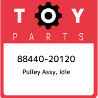 88440-20120 Toyota Pulley assy, idle 8844020120, New Genuine OEM Part
