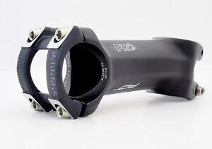 "Shimano Pro PLT Alloy Road Bike Stem +/- 10° Black 1-1/8"" 31.8 x 50mm New Model"