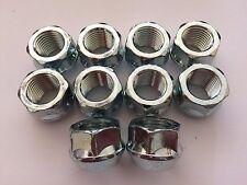 10 x M14X1.5 19m HEAD Open End Cerchi in lega NUTS si adatta CADILAC ATS CTS