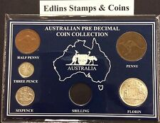 1951 - Australian Predecimal Coin Collection