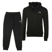EA7 by Emporio Armani Black Hooded Tracksuit