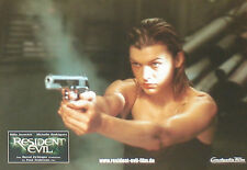 RESIDENT EVIL - Lobby Cards Set - Milla Jovovich, Michelle Rodriguez