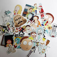 35Pcs/lot drame Rick and Morty stickers autocollant Skate Snowboard Portable Bagages