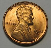 1942-D Lincoln Wheat Cent in the CH BU Range Nice Coins Priced Right FREE S&H