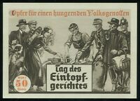 1933 Germany 3rd Reich Postcard German WWII Hitler Wehrmacht Solidarity Campaign