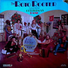 ROTO ROOTER GOOD TIME CHRISTMAS BAND - SELF TITLED - VANGUARD - 1974 LP