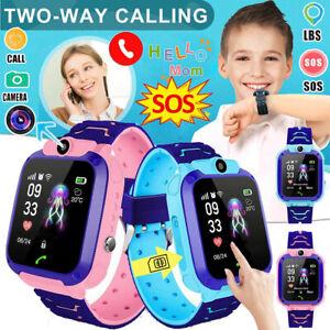 Kinder LBS-Telefon Uhr Armbanduhr Smart Watch Wasserdicht Tracker SOS Kids Watch