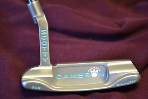 Scotty Cameron Custom Tiffany Blue Newport Beach Studio Stainless MINT