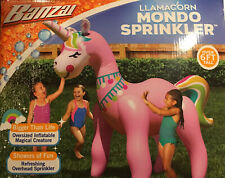 LLAMACORN Mondo Sprinkler Oversized Inflatable LLAMACORN Sprinkler Open Box New