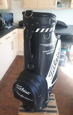 Titleist Vokey 9.5 inch Tour Bag with cover and straps USED