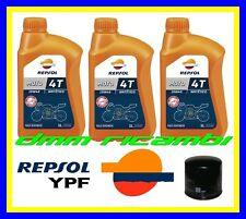 Kit Tagliando HONDA CBR 600 RR 11>12 + Filtro Olio REPSOL 10W/40 600RR 2011 2012