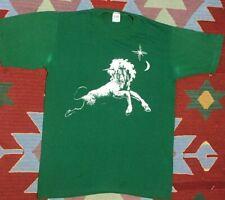 Vintage 70s Sportswear T Shirt Unicorn Size M Green