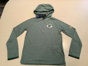 $50 Green Bay Packers Under Armour Football Hoodie Jacket Jersey Youth Small Boy