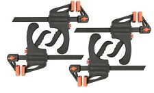 "Set of 4 30"" Nylon Ratchet Bar Clamp Spreader Heavy Duty Woodworking Carpenter"