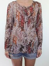 Zara Floral Classic Blouses for Women