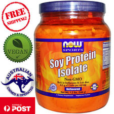 Now Foods Vegan Sports Soy Protein Isolate Natural Unflavored 1.2 lbs (544 g)