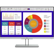 HP E243p EliteDisplay 23.8  LCD Monitor Black And Silver - 1920 x 1080 Full HD D
