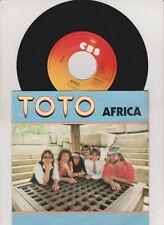 "TOTO - AFRICA   - 7"" VINYL SINGLE"