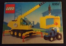 1991 LEGO Classic Town Cargomaster Crane INSTRUCTION MANUAL ONLY (6352)
