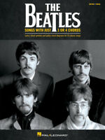 The Beatles: Songs with Just 3 or 4 Chords - Guitar/Vocal Songbook 275904