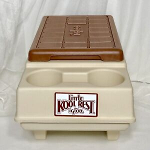 1983 Little Kool Rest by IGLOO Car Cooler Console Ice Chest Cup Holder RETRO VTG