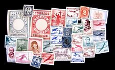 ASSORTMENT OF 30+ USED, MNH, MHM, CTO MAY BE DUPLICATES (SEE DESCRIPTION)