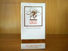 Colonia perfume vintage ORGIA de Myrurgia. 50 ml. Años 70s. NUEVA / NEW