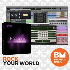 AVID Pro Tools 12 Perpetual License - Brand New - Belfield Music