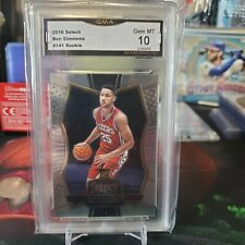 BEN SIMMONS 2016/17 PANINI SELECT #141 76ERS RC Rookie GEM MINT GMA 10 🔥📈💰