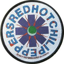 "RED HOT CHILI PEPPERS PATCH / AUFNÄHER # 2 ""LOGO"" - 9cm"