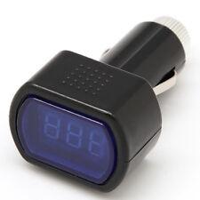 Voltmètre Auto Batterie Voiture Tension Testeur Gauge Mètre Allume-cigare 12V
